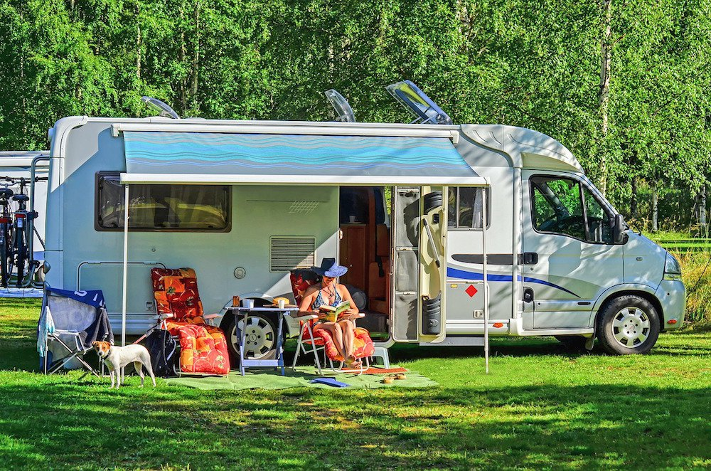 Try renting an RV or trailer before buying one
