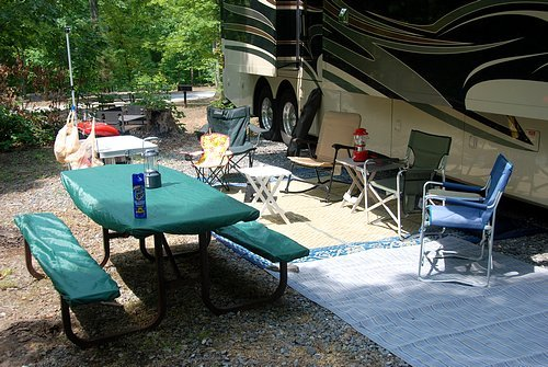 Setting up your RV site